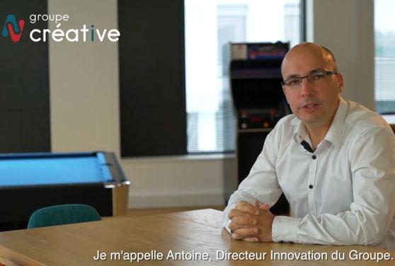 Antoine directeur innovation